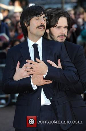 Jason Schwartzman and Edgar Wright