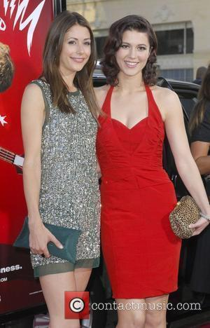 Amanda Crew and Mary Elizabeth Winstead 'Scott Pilgrim Vs. The World' Los Angeles Premiere held at The Grauman's Chinese Theatre...