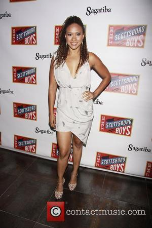 Tracie Thoms Opening night after party for the Broadway musical production of 'The Scottsboro Boys' held at Touch night club...