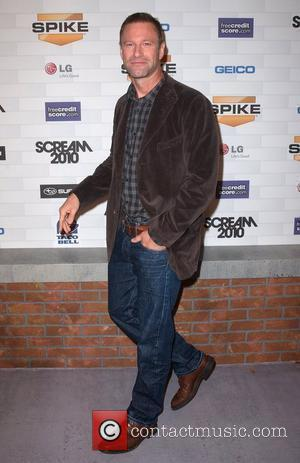 Aaron Eckhart Spike TV's 'Scream 2010 Awards' at the Greek Theater - Arrivals Los Angeles, California - 16.10.10
