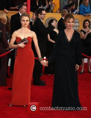 Jessica Lange and her daughter The 16th Annual Screen Actors Guild Awards held at The Shrine - Arrivals Los Angeles,...