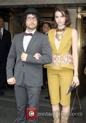 Socialite Sean Lennon with girlfriend Kemp Muhl, out for a night on the town New York City, USA - 03.05.10