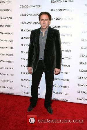Nicolas Cage,  at the 'Season of the Witch' premiere at AMC Loews Theater New York City, USA - 04.01.11