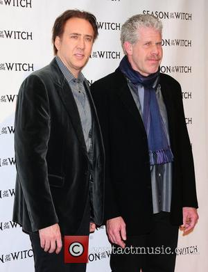 Nicholas Cage, Ron Perlman and The Witch