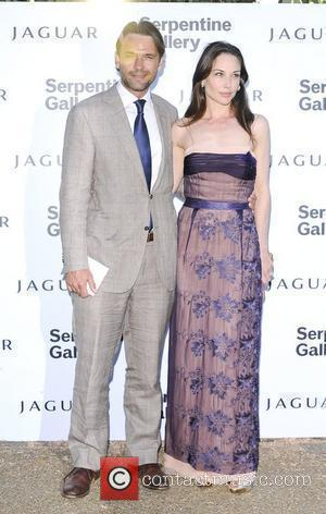 Dougray Scott and Claire Forlani,  Serpentine Gallery Summer Party in Kensington Gardens - Arrivals London, England - 08.07.10