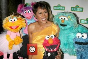 Robin Roberts and Sesame Street
