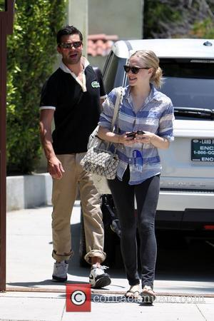 Amanda Seyfried and her boyfriend Dominic Cooper leaving a personal trainers house in West Hollywood. Los Angeles, California - 19.06.10