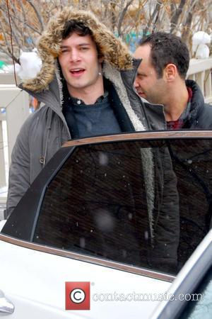 Adam Brody Celebrities leaving a screening of 'The Romantics' at Library Centre at the 2010 Sundance Film Festival Park City,...