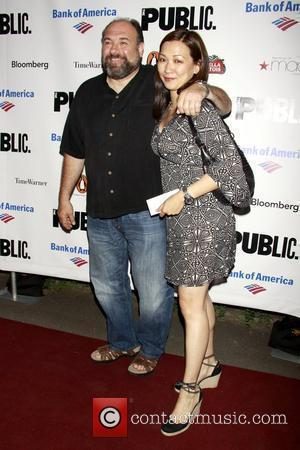 James Gandolfini and Deborah Lin The Public Theater's Annual Gala, featuring a performance of 'The Merchant of Venice' at Shakespeare...