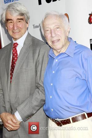 Sam Waterston and Bernard Gersten