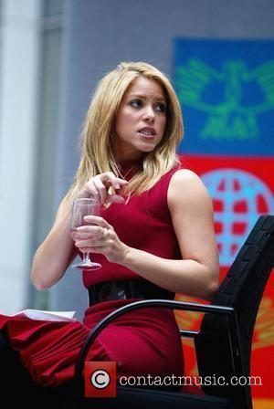 Shakira The World Bank hosts The Early Childhood Initiative: An Investment for Life forum and press conference in the main...