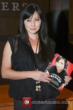 Shannen Doherty  Shannen Doherty signs copies of her new book 'Badass' at Barnes & Noble bookstore at The Grove...