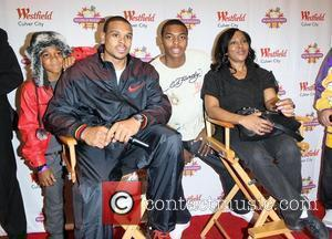 Shannon Brown, Chris Brown and Two Brothers