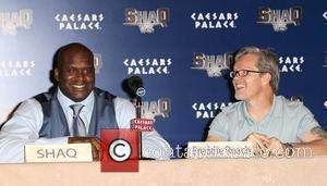 Shaquille O'Neal and Freddie Roach
