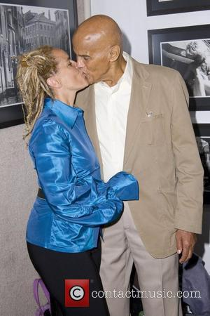 Harry Belafonte and Shari Belafonte Opening Night of Shari Belafonte's Italy exhibit New York City, USA - 07.10.10