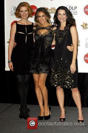 Cynthia Nixon, Kristin Davis and Sarah Jessica Parker