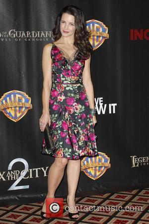 Kristin Davis and Warner Brothers