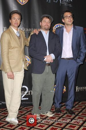 Robert Downey Jr, Warner Brothers and Zach Galifianakis