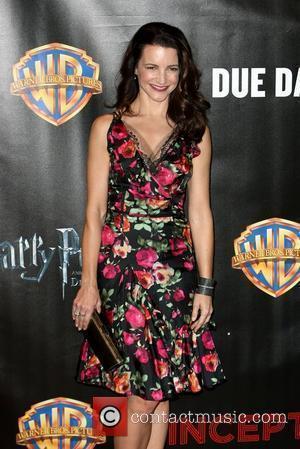 Kristin Davis and Warner Brothers