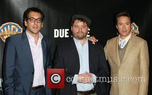 Todd Phillips, Robert Downey Jr, Warner Brothers and Zach Galifianakis