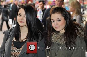 Kathryn Prescott and Megan Prescott Shrek Forever After - gala screening held at the Vue Leicester Square. London, England -...