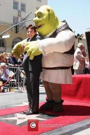 Mike Myers and Shrek