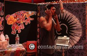 Shwayze aka Aaron Smith recording his new album at The Conway Recording Studios Los Angeles, California - 20.10.10