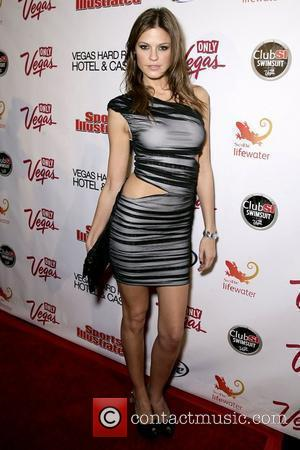 Dominique Piek Sports Illustrated hosts 'Club SI Swimsuit at Vanity' inside The Hard Rock Hotel Casino - Arrivals Las Vegas,...