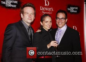 Dallas Roberts, Michael Mayer and Tony Kushner