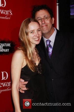 Zoe Kazan and Tony Kushner   Signature Theatre Company's 20th Anniversary Gala, celebrating playwright-in-residence, Tony Kushner held at Espace...