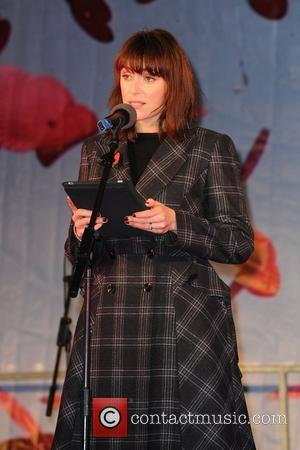 Keeley Hawes reads a poem  Silence in the Square - A Two Minute Silence event of Remembrance featuring musical...