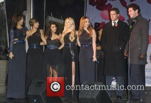 Rochelle Wiseman, Frankie Sandford, Mollie King, The Saturdays, Una Healy and Vanessa White