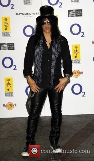 Slash O2 Silver Clef Awards 2010 held at the London Hilton, Park Lane - Arrivals. London, England - 02.07.10
