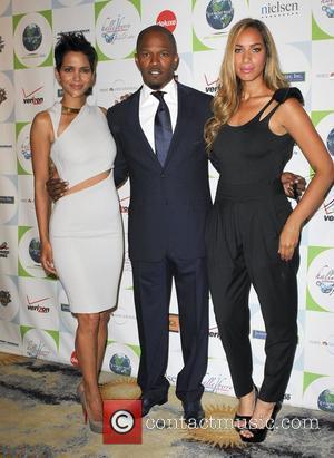 Leona Lewis, Halle Berry and Jamie Foxx