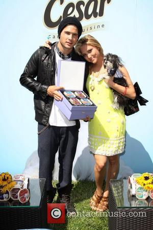 Cody Longo and Cassie Scerbo Annual Dog And Baby Buffet Mother's Day Event at the Hyatt Regency Century Plaza -...