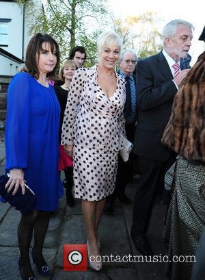 Denise Welch The wedding of Simon Gregson and Emma Gleave at St Bartholomew's Church. Wilmslow, England - 13.11.10