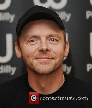Simon Pegg  signs copies of his new book at Waterstone's in Piccadilly. London, England - 14.10.10