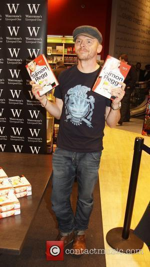 Simon Pegg signs copies of his new book 'Nerd Do Well' at Waterstones Bookstore in Liverpool Liverpool, England - 21.10.10