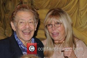 Jerry Stiller and Nancy Sinatra 'Come fly with us' - a launch party for wines from the Sinatra Family Estates...