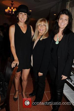 Nancy Sinatra poses with her daughters Amanda Erlinger and A.J. Lambert 'Come fly with us' - a launch party for...