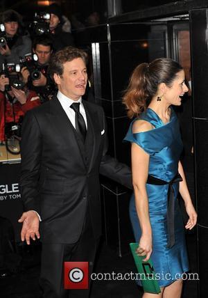 Colin Firth and Livia Guggiolo
