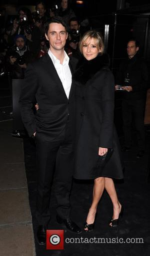 Matthew Goode and guest Single Man - UK film premiere held at the Curzon Mayfair - Arrivals London, England -...