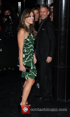 Patrick Cox and Elizabeth Hurley Single Man - UK film premiere held at the Curzon Mayfair - arrivals. London, England...