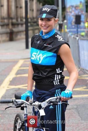 Gemma Atkinson Sky Ride Manchester  Manchester, England - 01.08.10