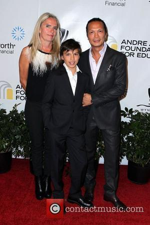 Susar Lee and family Andre Agassi Grand Slam For Children at Wynn Resort and Casino in Las Vegas Las Vegas,...