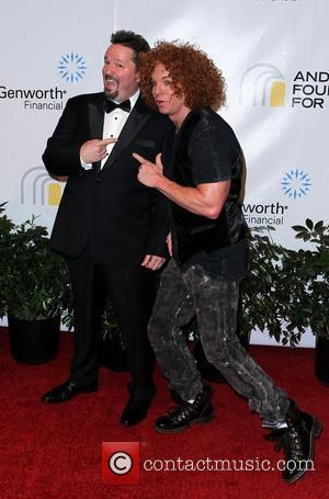 Terry Fator and Carrot Top Andre Agassi Grand Slam For Children at Wynn Resort and Casino in Las Vegas Las...