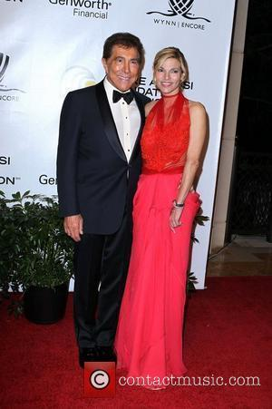 Steve Wynn and Andrea Hissom Andre Agassi Grand Slam For Children at Wynn Resort and Casino in Las Vegas Las...