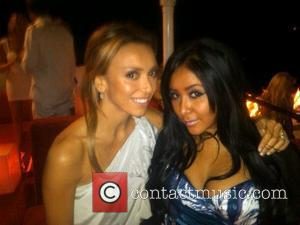 Nicole Polizzi aka Snooki and Giuliana Rancic attend Jason Hope's 'Ludacris-mas' party. Scottsdale, Arizona - 18.12.10