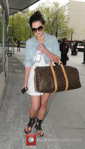 Helen Flanagan leaving her hotel after attending the 2010 British Soap Awards held at the London Television Centre last night....