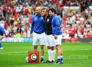 Zinedine Zidane and Robbie Williams